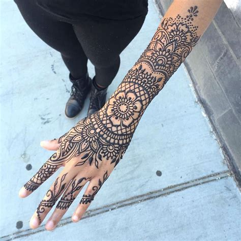 henna tattoo full arm 24 henna tattoos by goldman you must see