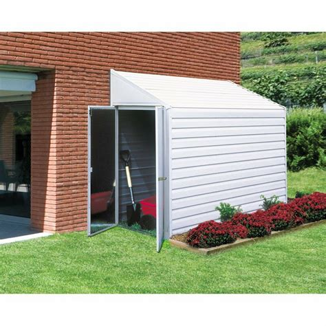 garden storage shed metal  utility outdoor building