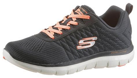Sepatu Skechers Air Cooled skechers 187 flex appeal 2 0 free 171 sneaker mit d 228 mpfung durch air cooled memory foam
