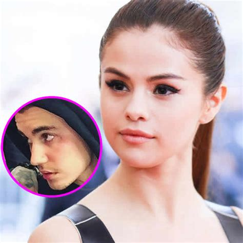 what does selena gomez tattoo say selena gomez doesn t like justin s new says