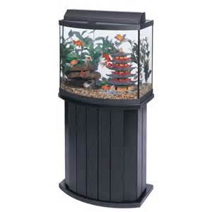 26 Gallon Aquarium Aqueon 26 Gallon Pine Bow Front Rectangular