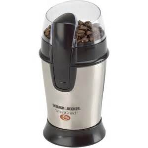 Coffee Maker With Bean Grinder Black Decker Coffee Bean Grinder Stainless Steel Aby