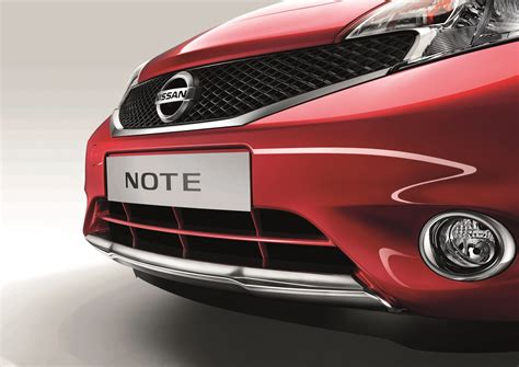 chrome note front lip finisher windsor airside nissan