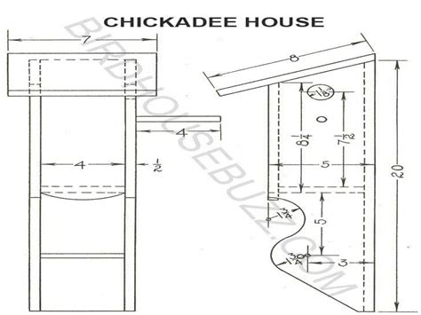 house dimensions online chickadee bird house hole size free chickadee bird house