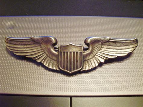 Wing Pilot Badge Us Air Usaf Emblem wwii us army air pilot wings