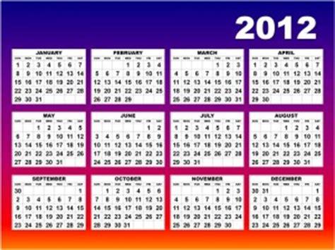 El Fin Calendario 2012 Calendario Escolar 2012 Nominas