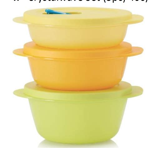 Seal Crystalwave Tupperware tupperware crystalwave microwave containers the