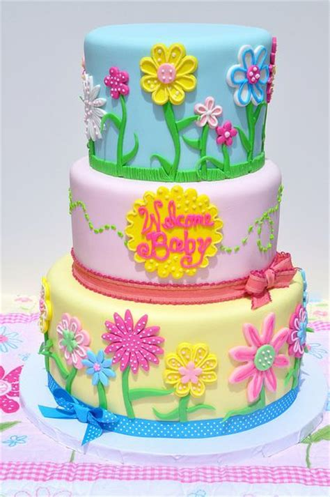 flower baby shower cakes 3418 best cake images on biscuits beautiful
