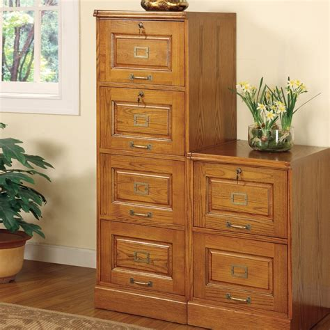 four drawer wood file cabinet shop coaster furniture oak 4 drawer file cabinet at