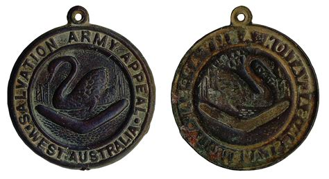 Salvation Army Search Salvation Army Appeal Western Australian Numismatica