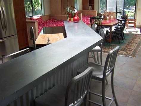galvanized counter top tony s custom
