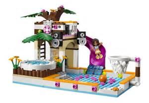 lego friends schwimmbad my lego style lego friends heartlake city pool 41008
