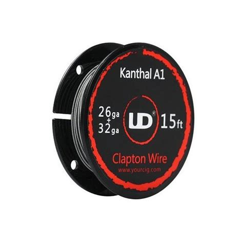 Ud Kanthal A1 24awg ud clapton wire kanthal a1 26ga end 10 27 2018 12 36 pm