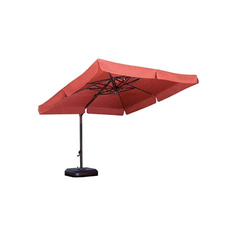 10 Foot Patio Umbrella Patio Umbrella 10 Ft Square Cantilever Krt Concepts Patio Furniture