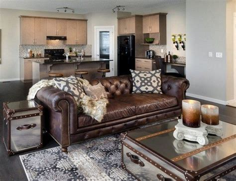 living room brown leather sofa 20 beautiful living rooms with mirrored furniture