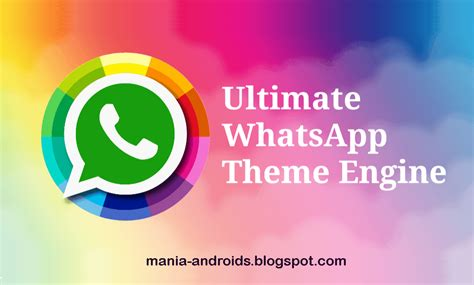 download theme engine android download ultimate whatsapp theme engine uwte v5 4 2 2