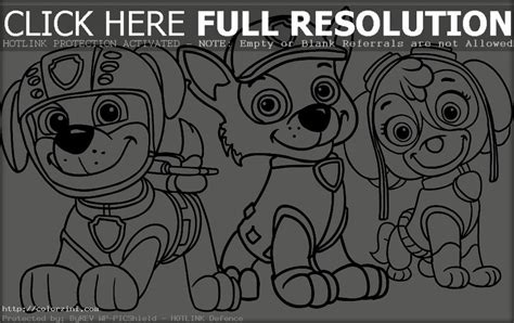 paw patrol coloring pages for toddlers paw patrol coloring pages color zini