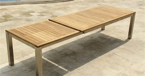fascinating expandable outdoor dining table images decors dievoon