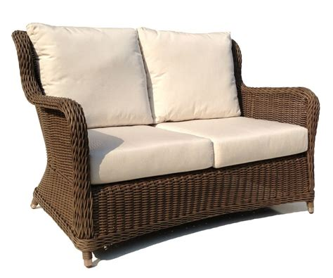 outdoor wicker settee cushions wicker settee cushions outdoor 28 images arden