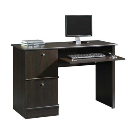 Saunders Computer Desk Cinnamon Cherry Computer Desk By Sauder Officefurniture