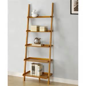 Walnut Veneer Bookcase Leaning Ladder Shelf Plans Tips And Products