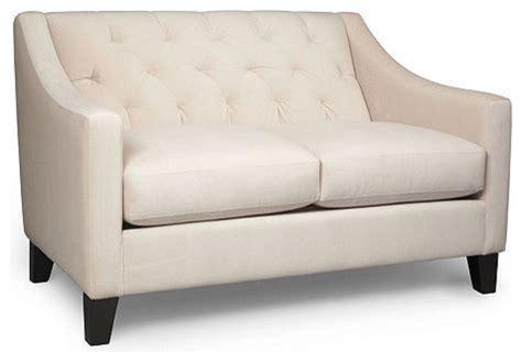 velvet sofas sectionals chloe velvet metro living love seat modern loveseats