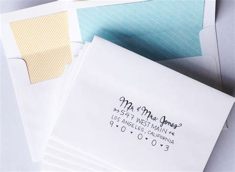 Wedding Invitation Letter Envelope outer envelope wedding invitation etiquette wedding invitation sle