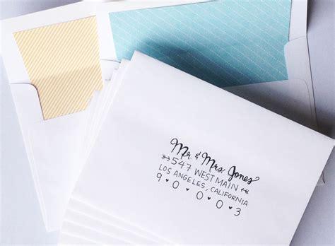 Outer Envelope Wedding Invitation Etiquette   Wedding Invitation Sample