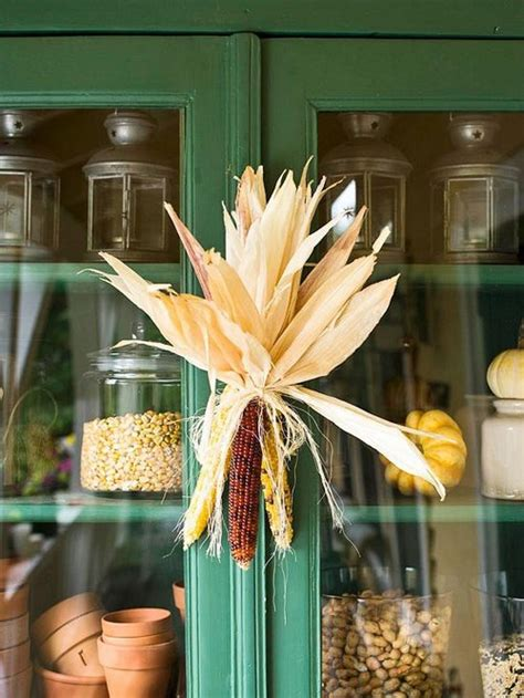 indian corn decorations for fall fall decorating ideas for kitchen www nicespace me