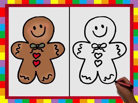 imágenes de navidad para dibujar fáciles especial navidad n 186 5 como dibujar una galleta o dulce