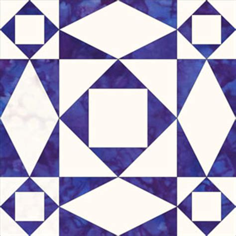 At Sea Quilt Block by Square And Rectangle Quilt Patterns Free Quilt Pattern