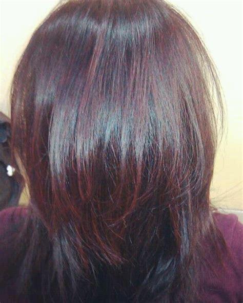 burgundy hair color with highlights burgundy brown hair color highlights