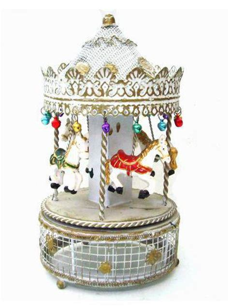 Suplier Box Carousel Silver Giq6 Fashion Musical Boxes Metal Box Id 3867618