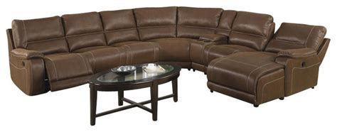 extra long reclining sofa coaster loukas extra long reclining sectional sofa w