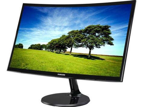 Monitor Samsung C24f390 samsung 390 series c24f390 glossy black 24 quot 4ms hdmi widescreen lcd led monitor amd freesync
