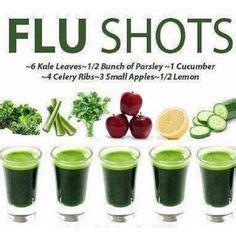 Flu Vaccine Detox Vitamin C by Juicing Vegetables Fruit Flu Tonic Recipe Build