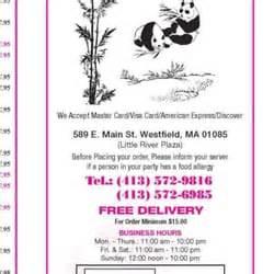panda house westfield ma panda house 21 avalia 231 245 es chin 234 s 589 e main st westfield ma estados unidos