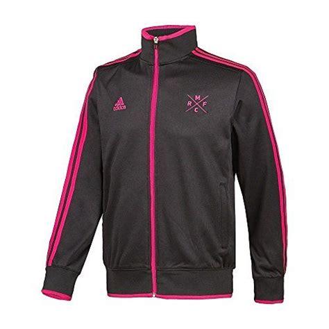 Jaket Windcheater Black Real Madrid adidas real madrid track jacket black pink l track active jackets track