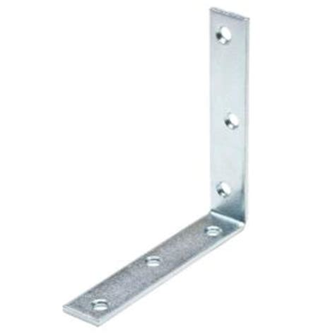 everbilt 6 in zinc plated corner brace 15214 the home depot
