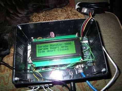 garage gadgets garage door monitoring system hacked gadgets diy tech blog