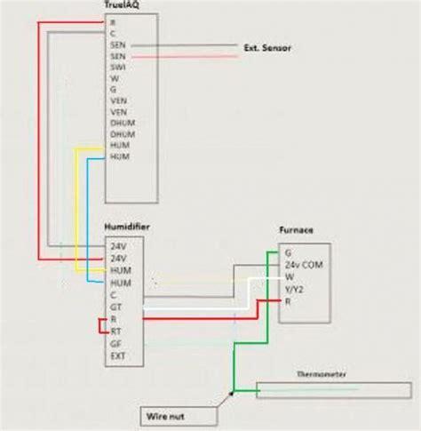 honeywell truesteam wiring diagram honeywell humidistat