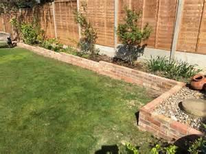 garden brick border construction tidy gardens