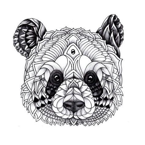 panda mandala tattoo panda mandala tats pinterest mandalas and pandas