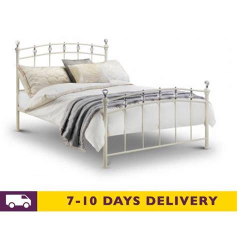 metal king size bed julian bowen sophie 5ft king size metal bed
