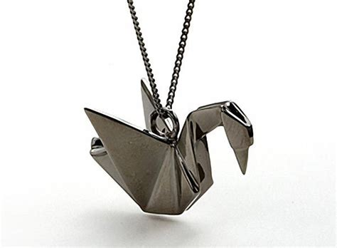 Origami Swan Necklace - best 25 origami swan ideas on origami