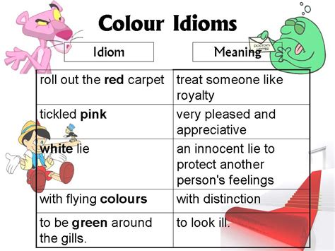 Color Idioms | lesson 5 colour idioms christina ong s blog