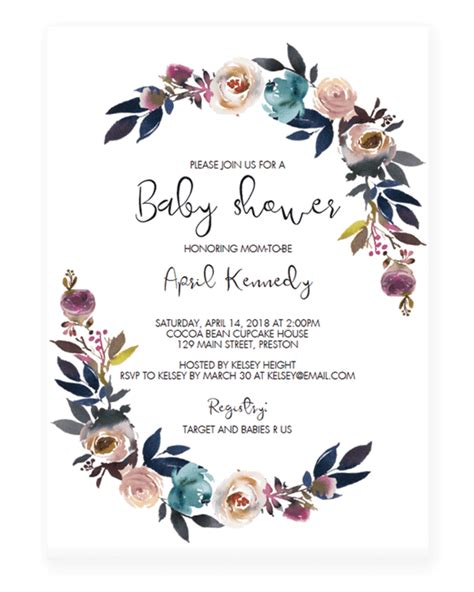Print At Home Baby Shower Invitations by Printable Invitations Coolest Free Printables Diy
