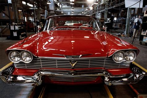 film with cars christine our most awesome movie car muscle cars zone