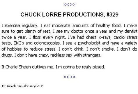 charlie day production company chuck lorre productions quotes quotesgram