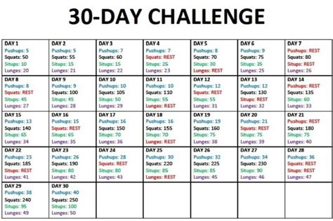 30 day workout plan for men at home 30 day workout plan injeniouslife